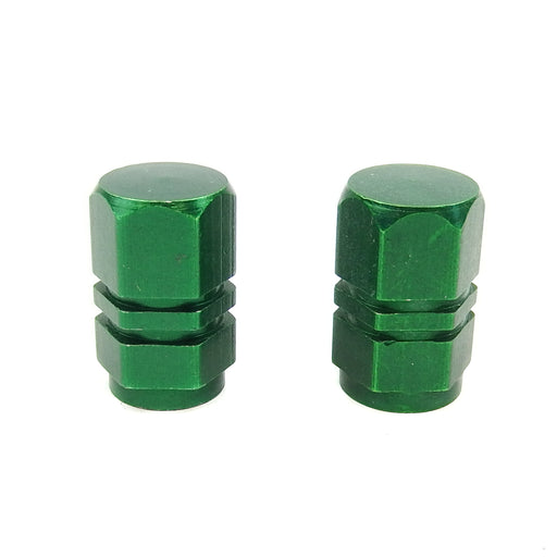 Valve Cap Green hex