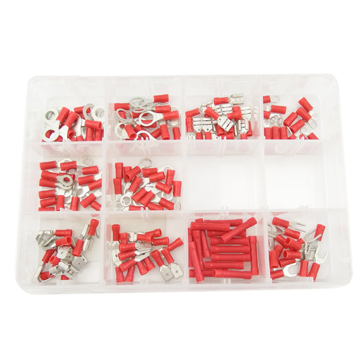 Workshop Kit - WSK06 - Insulated Terminals Red  - 165pc