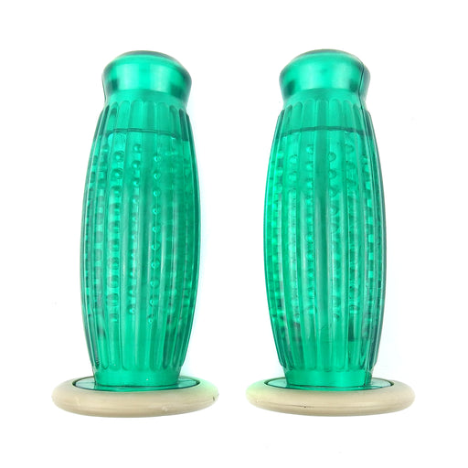 Twistgrips - Balloon Grips - Green- 27mm - Lambretta S1 & S2