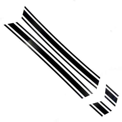 Lambretta - Side Panel Stripes - GP - Black