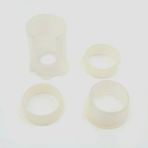 Vespa - Headset Bottom - LML - Plastic Bush Insert/s - Set Of 4