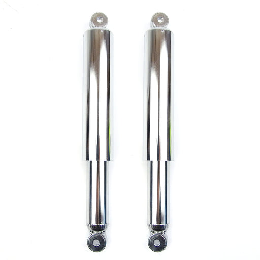 Lambretta Series 2 3 Li GP SX TV Chrome Front Dampers - Fat Type - Beedspeed, Scooter Parts & Accessories For Lambretta, Vespa & More