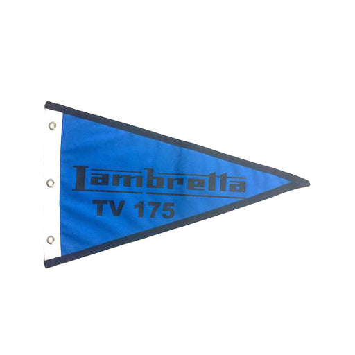 Flag Lambretta TV175 29cm x 18cm Blue & Black