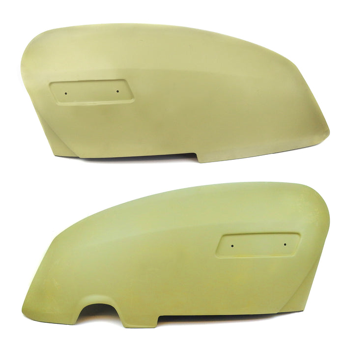 Lambretta - Side Panels - GP - Metal -  Pair - Remade - Primered