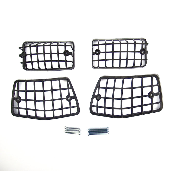 Vespa PX PE T5 Black Indicator Grill Kit