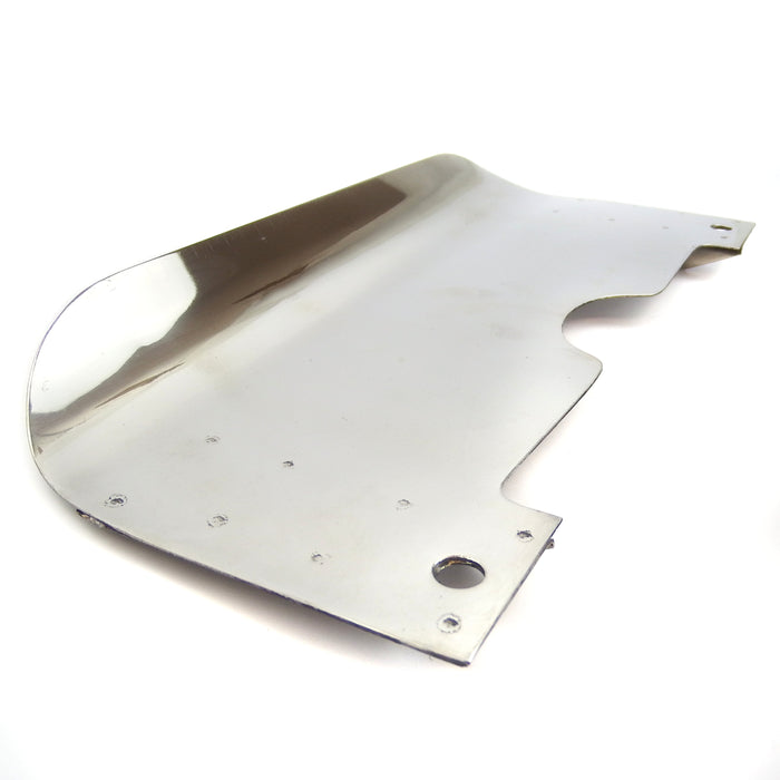 Lambretta - Centre Stand Splash Plate - Ser. 2 - Polished Stain