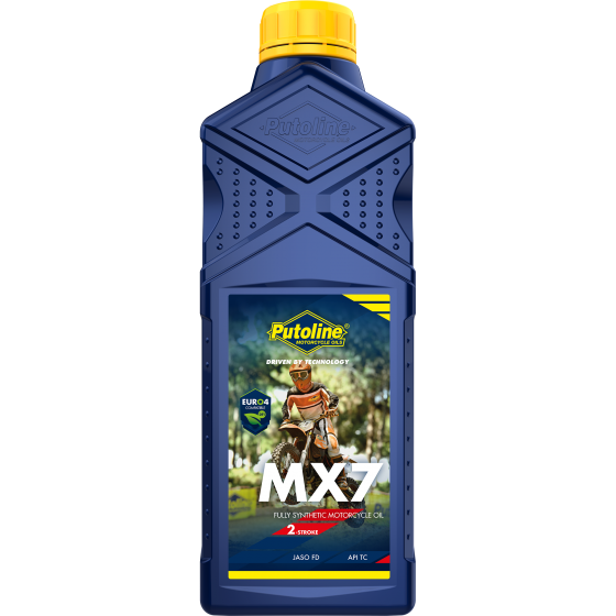 Putoline MX7 Fully Synthetic Two Stroke Pre Mix 1 Litre