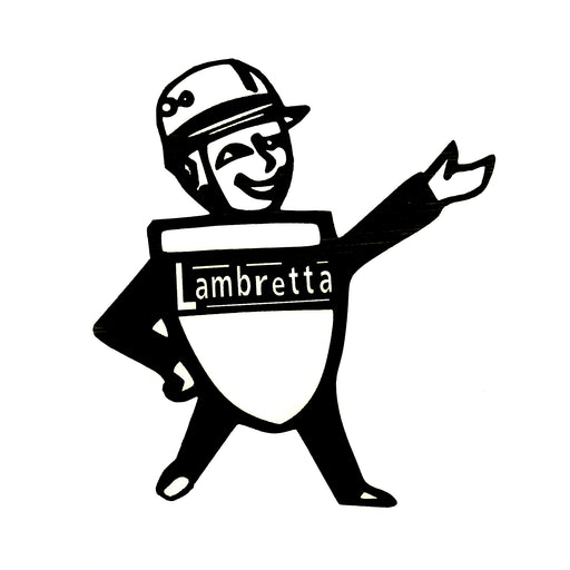 Lambretta Sticker Mr. Lambretta