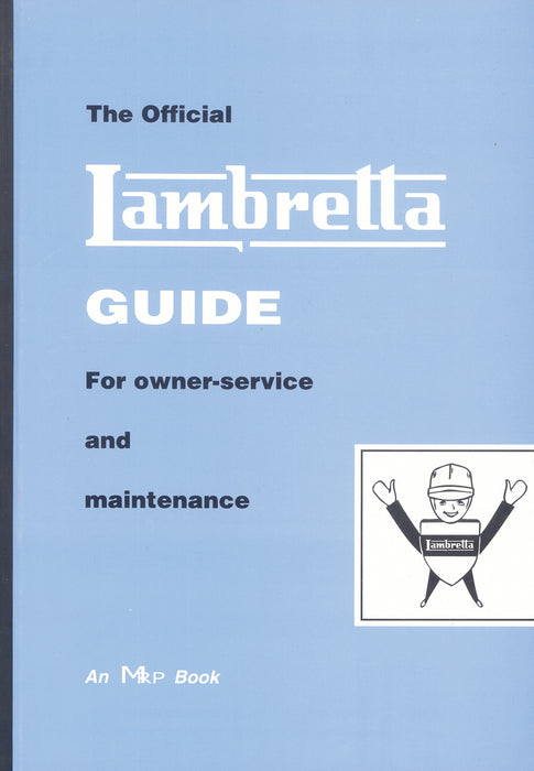 Lambretta LD, Li 1 & 2, TV - The Lambretta Guide Manual - Beedspeed, Scooter Parts & Accessories For Lambretta, Vespa & More