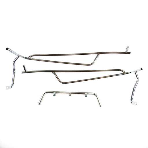 Rear Crash Bar Cuppini ET2, ET4 Chrome Automatic