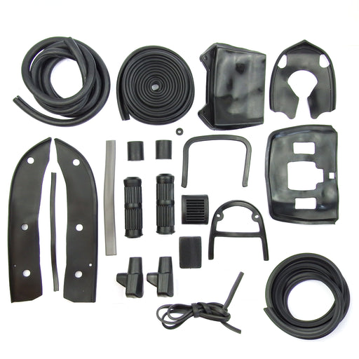 Lambretta - Rubber Kit - LI Ser.3 - Black