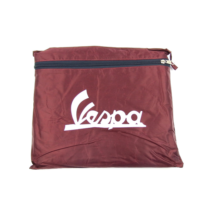 Scooter Cover - With Vespa Logo - Dark Red