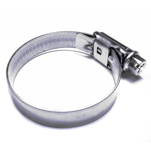 Fuel Pipe Clamp 8 x 16mm Diameter Stainless Steel