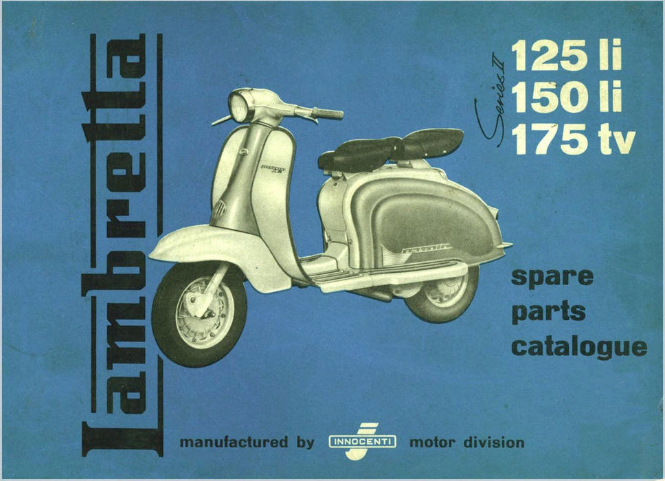 Manual - Lambretta Series 2 Spare Parts Catalogue