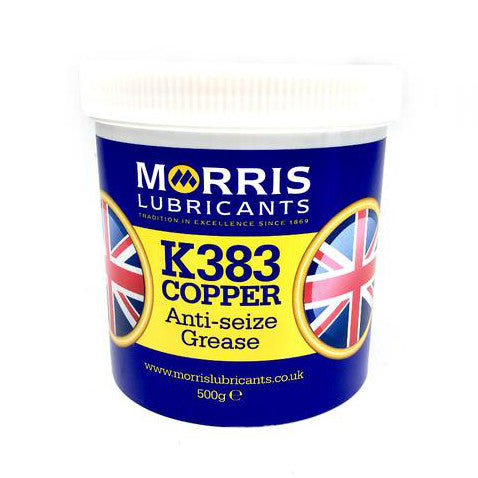 Copper Grease - 500g. - K383 Anti-Seize By Morris Lubricants