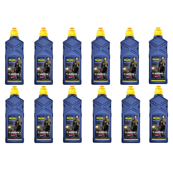 Putoline TT Scooter Plus Fully Synthetic 1 Litre Box/12 Pack