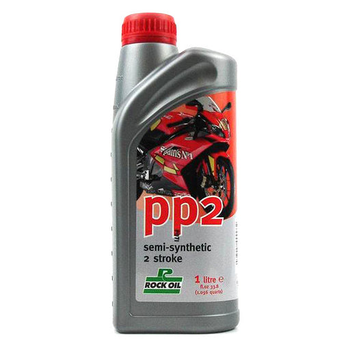 Rock Oil 2Stroke PP2 Pre Mix/Inject. SemiSynth 1 Litre