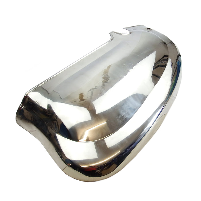Lambretta Series 2 Li TV Side Panels - Polished Stainless Steel