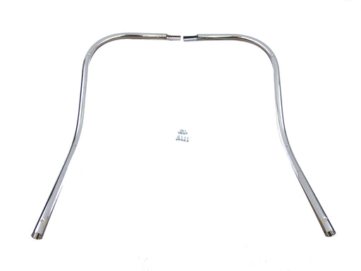 Vespa Super Sprint GTR Leg Shield Beading Chrome