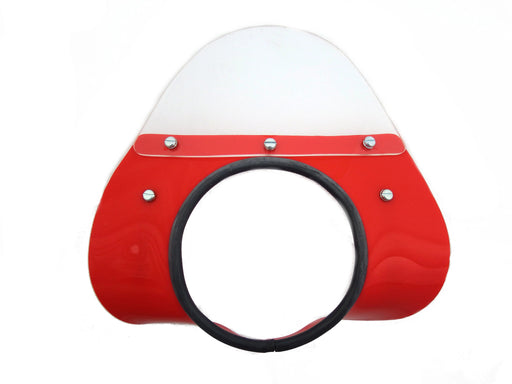 Vespa SS50 SS90 MOD Style Fly Screen - Red