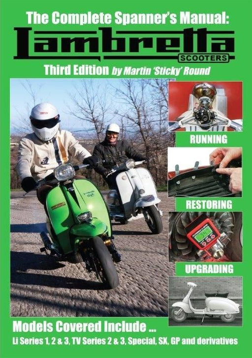 Manual Lambretta Third Edition Stickys Workshop Guide