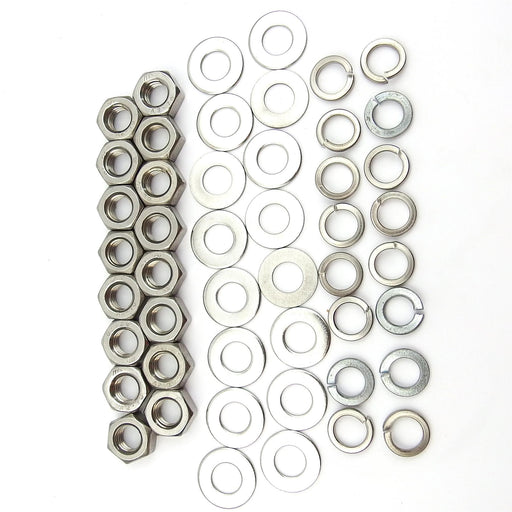 Lambretta Wheel Rim  Fixing Kit Standard Nut Type Stainless