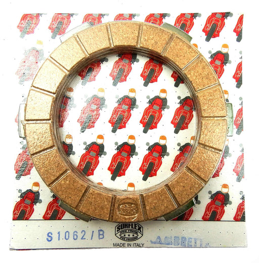 Lambretta - Clutch Plates - Four Plate - Surflex - Standard Compound