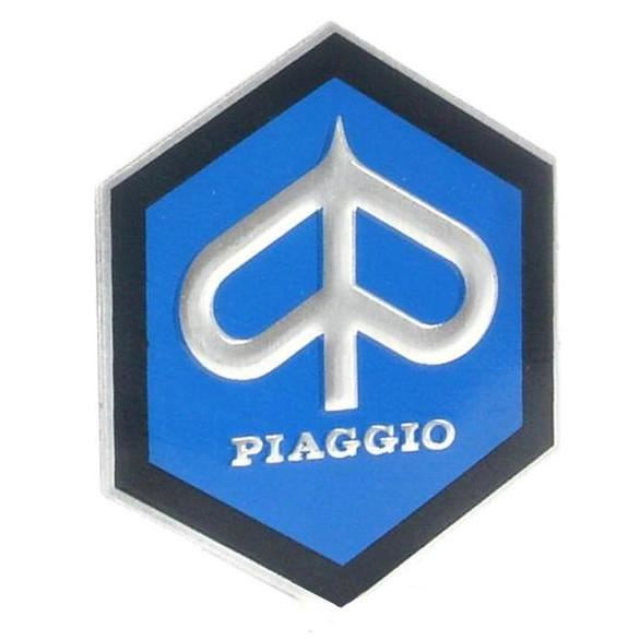 Vespa - Horncover Badge Hexagon Shaped V90, Prim
