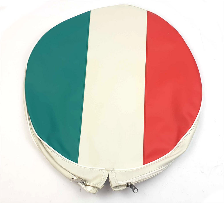 "Wheel - Spare Wheel Cover 10"" - Italian Colours"