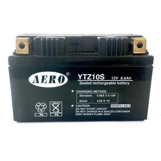Battery - 12 V - YTZ10S / CTZ10S - Fully Sealed - Gel