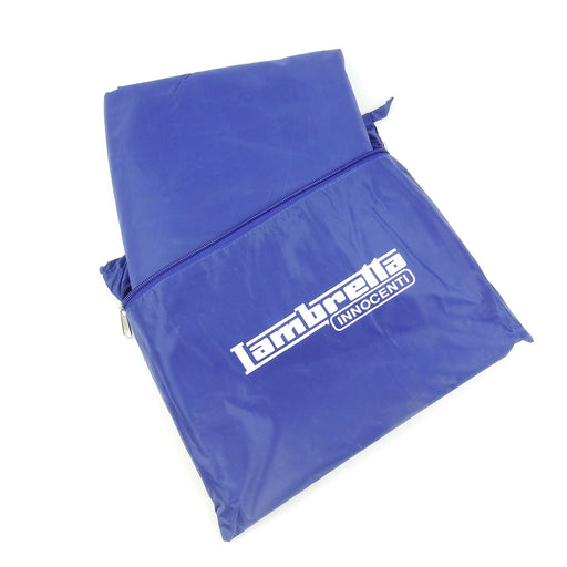 Scooter Cover - With Lambretta Logo - Medium Blue