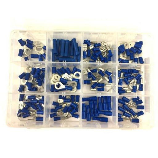 Workshop Kit - WSK07 - Insulated Terminals Blue  - 165pc