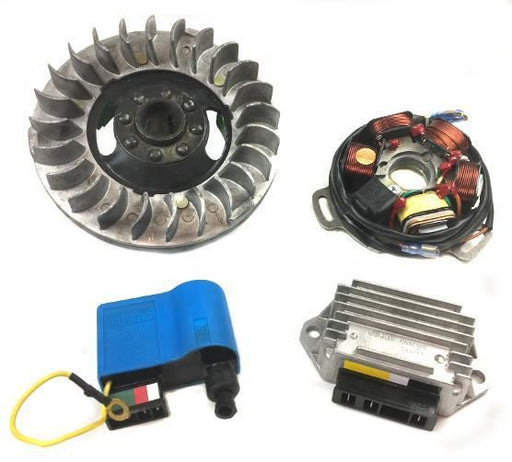 Lambretta Electronic Kit Li Ducati, SIL, Extra Light Flywheel