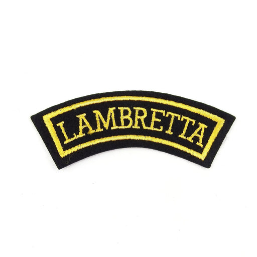 Lambretta Shoulder Patch Emblem.
