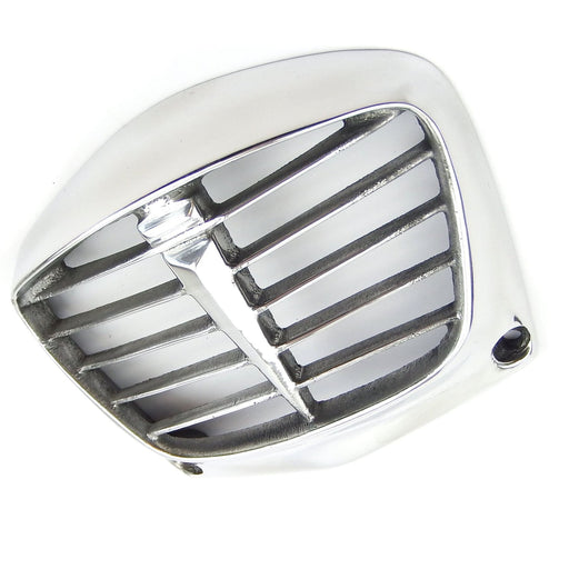 Lambretta Series 3 Li Horncover Grill - Polished Alloy