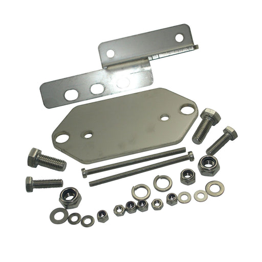 Lambretta - Electronic Coil And Reg Box Fitting Kit Stainless - Series 3