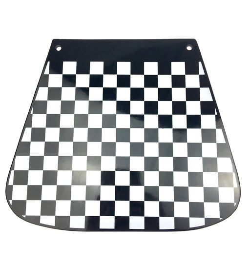 Mudflap - Chequered - Rounded - Flat Type