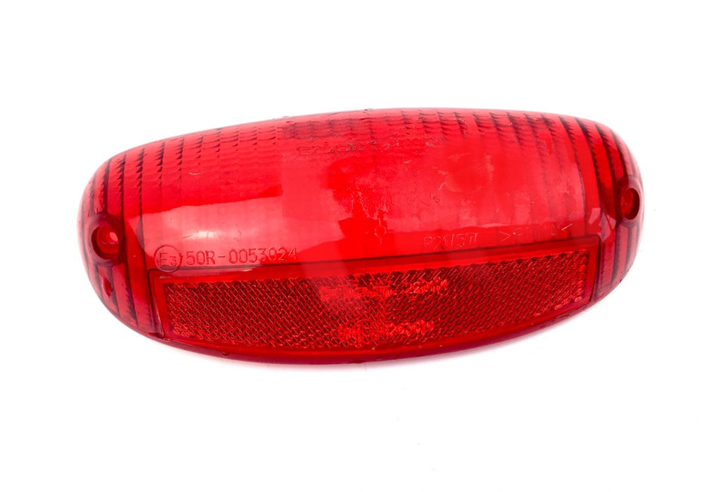 Vespa ET2 ET4 Rear Light Lens Red