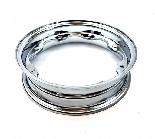 Lambretta Wheel Rim in Show Chrome