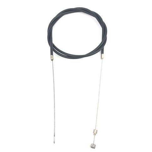 Vespa - Cable - Clutch Cable Complete Black - LARGE FRAME - 8mm Barrel