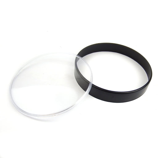 Vespa PX EFL Disc T5 Classic LML Speedometer Lens Repair Kit Black