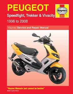 Manual - Haynes Peugeot / Speedfight / Trecker /  Vivacity