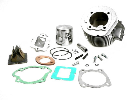 Lambretta TS1 225cc Cylinder Kit with Reed Block and Asso Piston