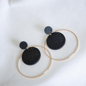 BLACK.02 EARRINGS