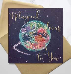 Magical Christmas Wishes to You Card