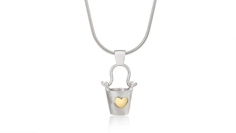 BUCKET OF LOVE PENDANT - The Collective Dublin