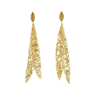 Feather Knot earrings - The Collective Dublin