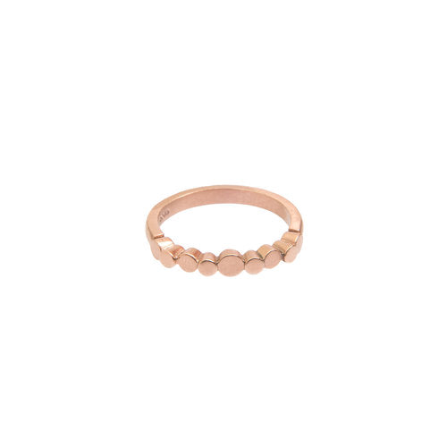 ROSE GOLD 'PEBBLE' RING