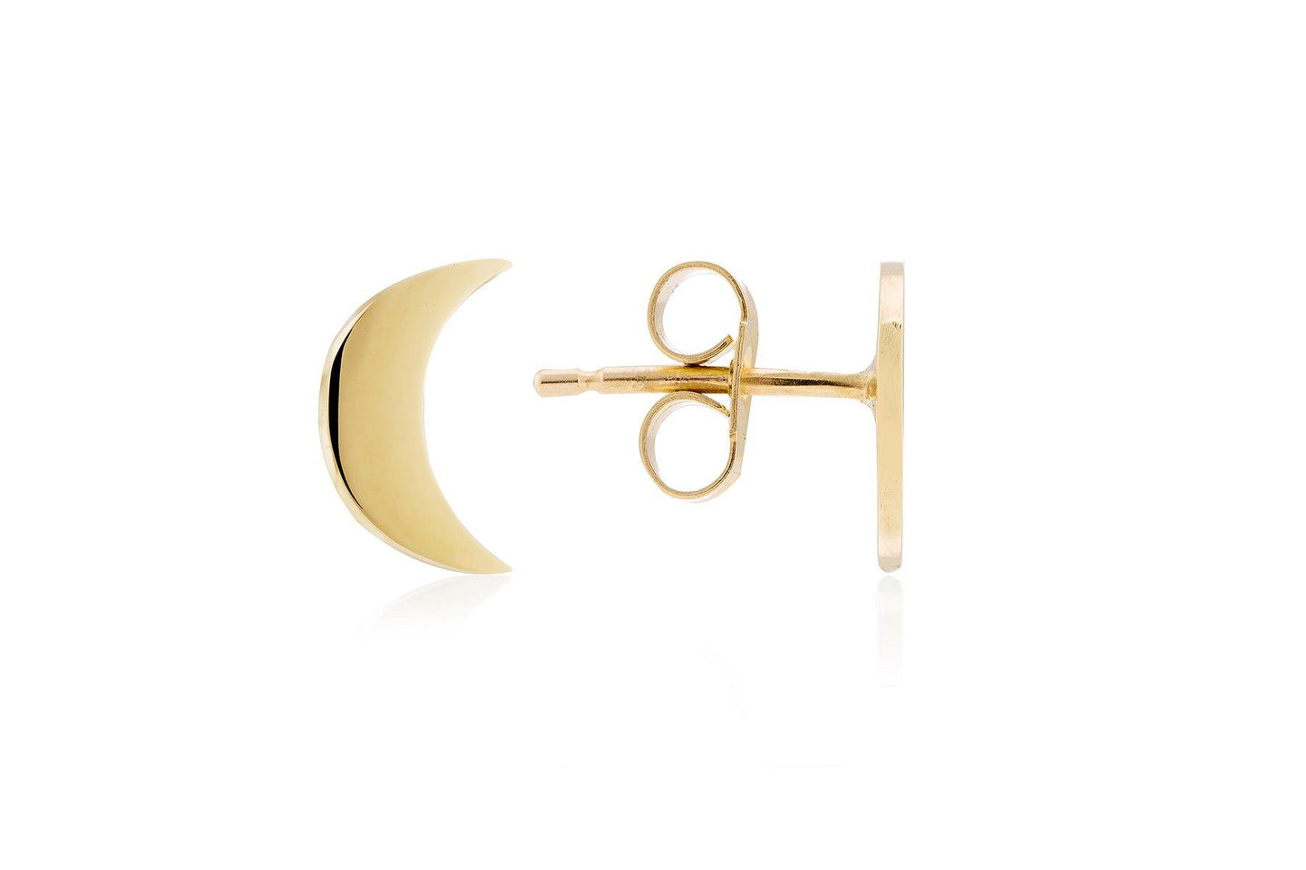 Moon & Moon Earrings