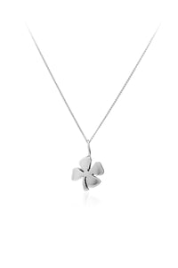 Lucky Four Leaf Clover Pendant - The Collective Dublin